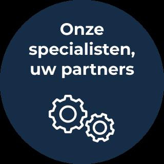 Onze specialisten, uw partners